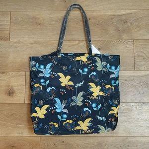 Loft Floral Tote Bag